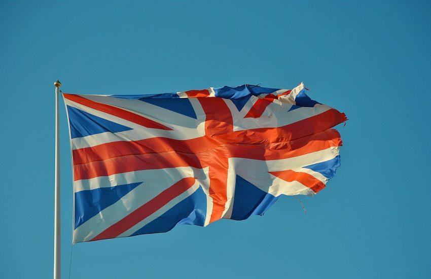 Velká Británie, Anglie, Britská vlajka