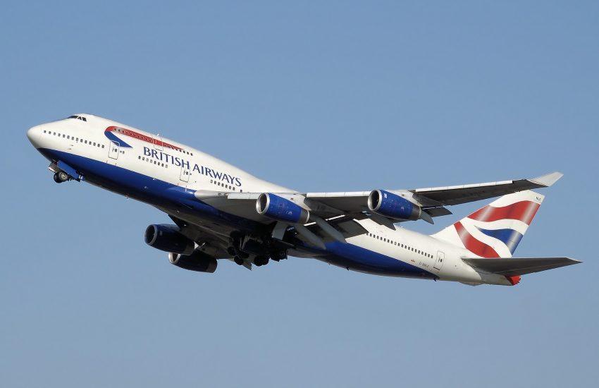 British Airways, letadlo, doprava
