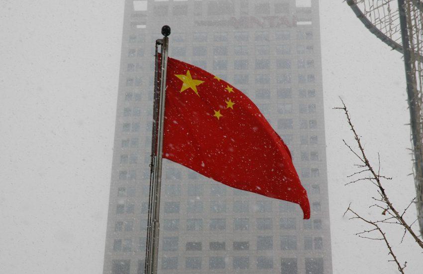 flag, China, Čína,