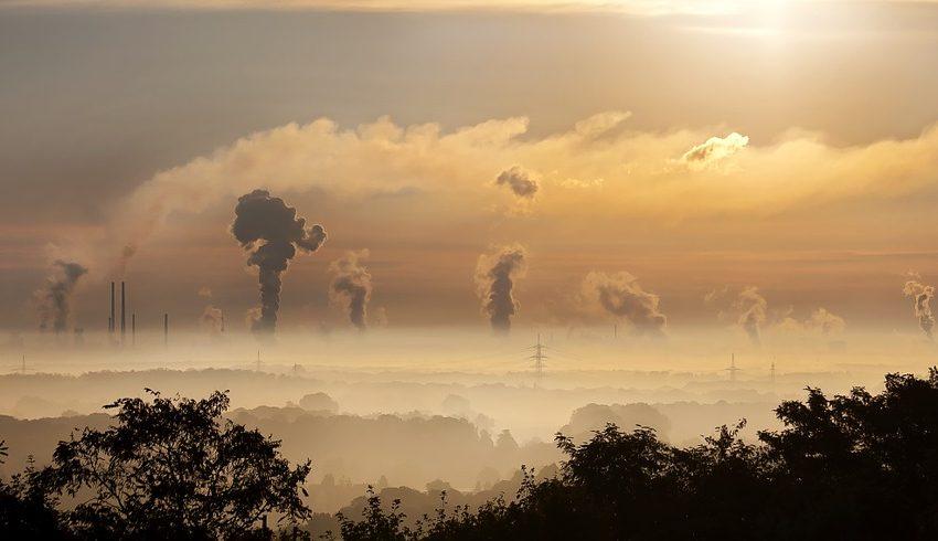 industry, průmysl, kouř, emise