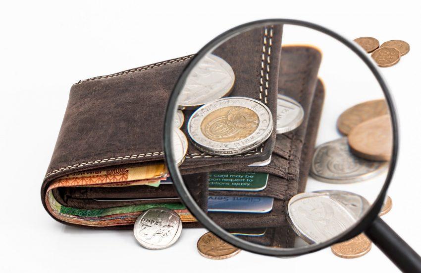 peníze, peněženka, půjčka