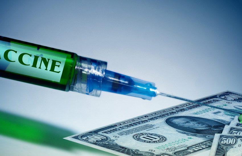 vakcína, dolar