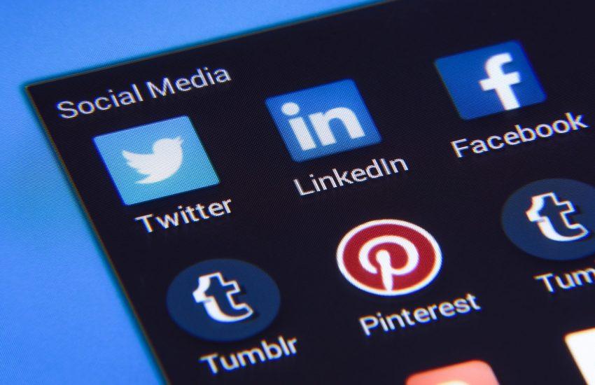 social-media, sociální sítě, pinterest, LinkedIn, Twitter, Tumblr