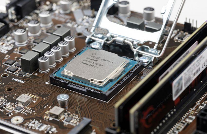 intel počítačový čip