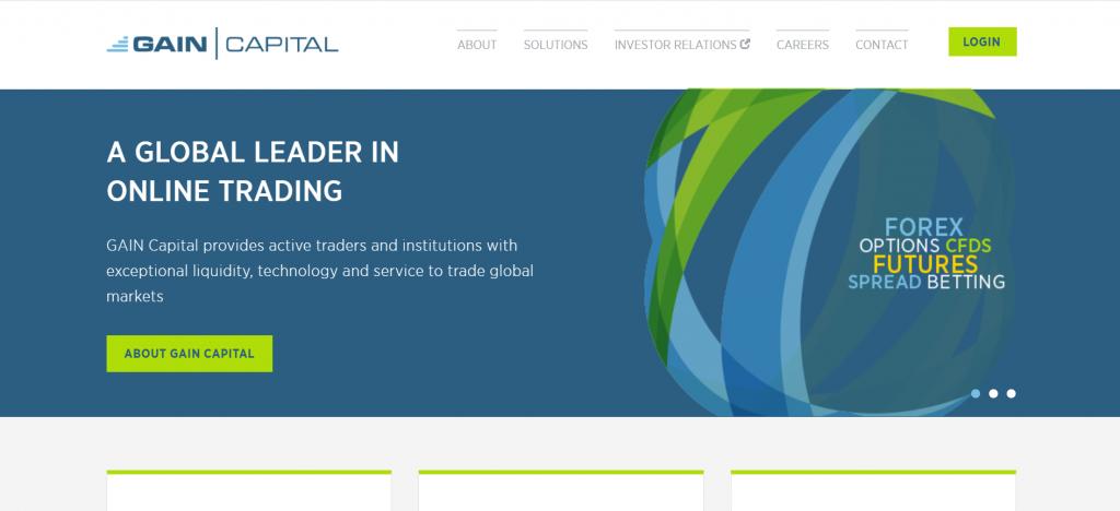 Gain Capital UK Limited web