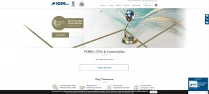 Web společnosti ICM Capital