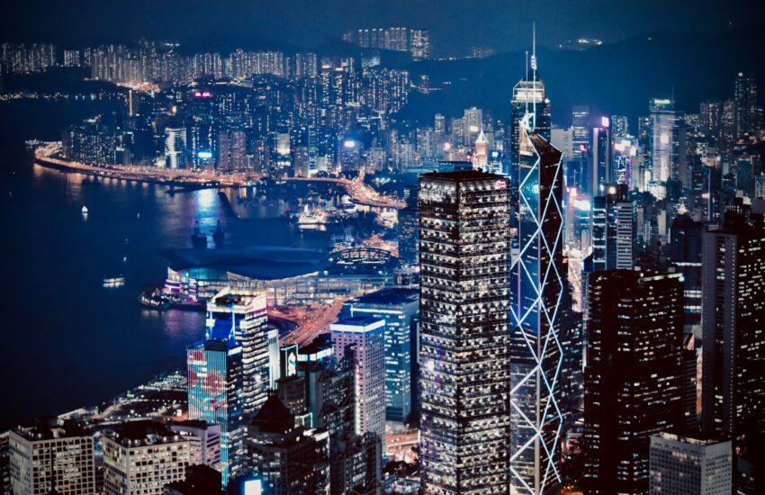 hongkong, asijské město, asie, město