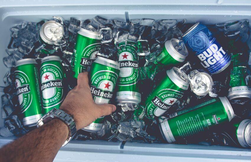 heineken, pivo