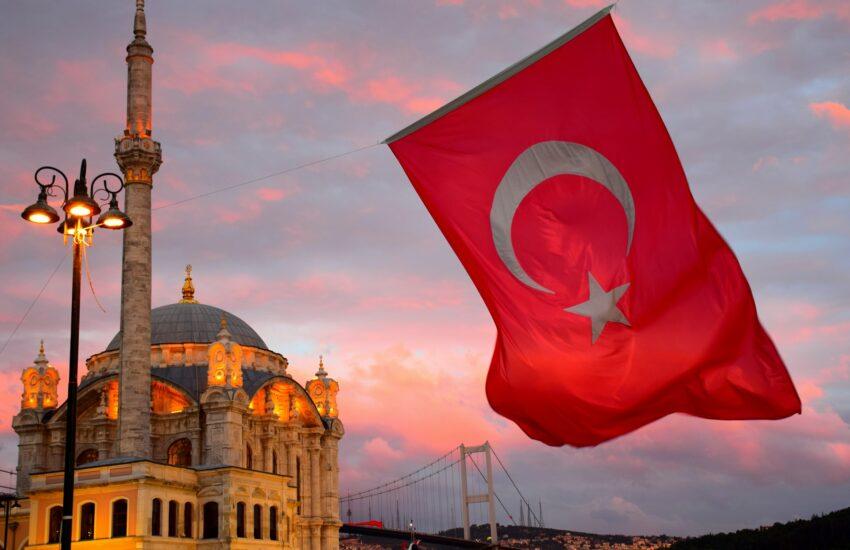Turecko, vlajka